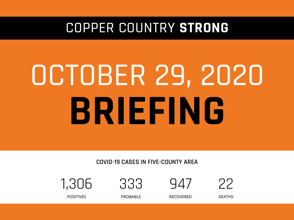Daily Briefing - October 29, 2020